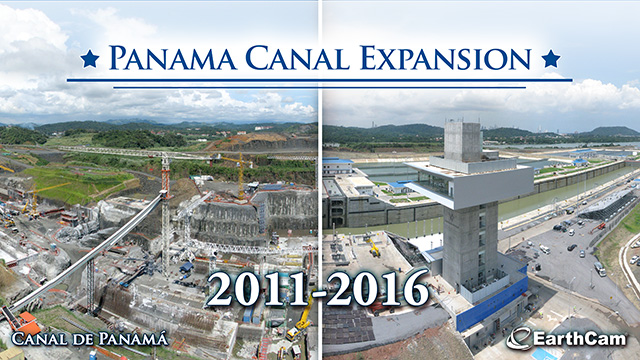 Panama Canal Time-Lapse Time-Lapse