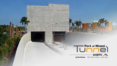 Port of Miami Tunnel Time-Lapse Time-Lapse